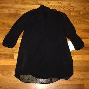 Zara Black dress brand new